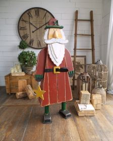 OPT-DECORAZIONE SANTA CLAUS - CM.52X22XH.126