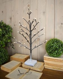 OPT6 XMAS TREE LED SNOW - CM.30X30XH.60